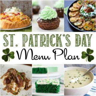 St. Patrick's Day Menu Plan