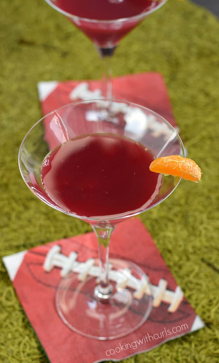 Super Bowl 2017 Cocktails Patriots | cookingwithcurls.com