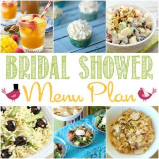 Bridal Shower Menu Plan | cookingwithcurls.com
