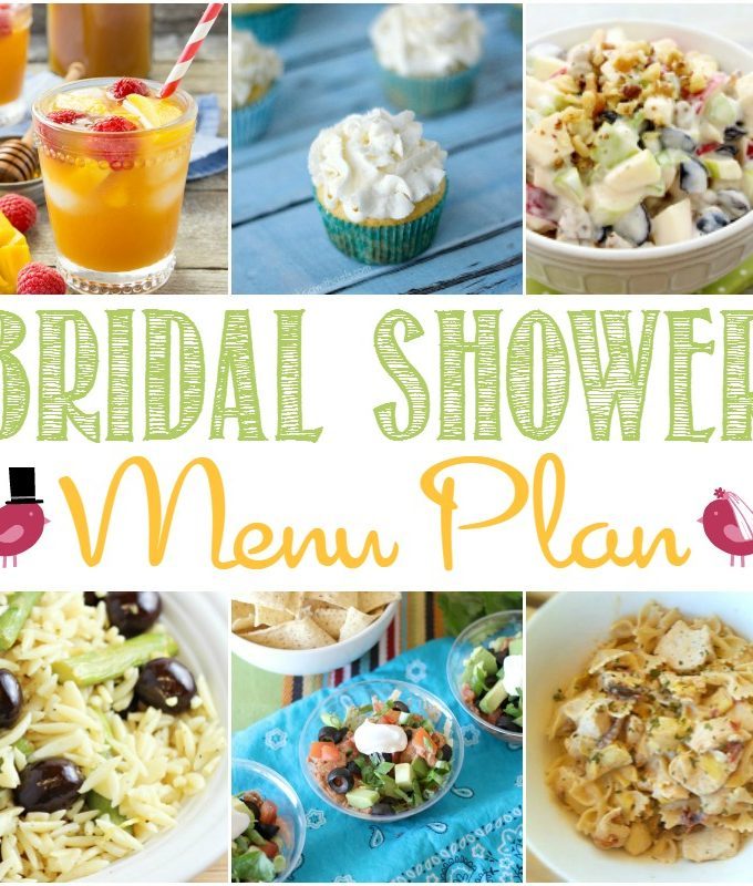 Bridal Shower Menu Plan | cookingwithcurls.com