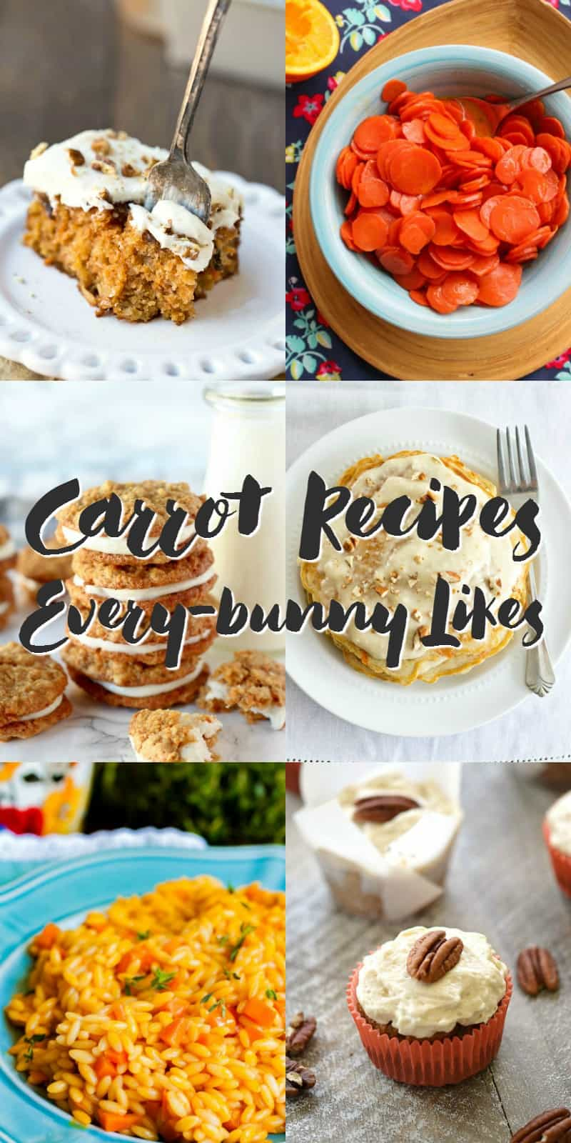 Check out these Carrots Recipes that Every-bunny Likes | cookingwithcurls.com