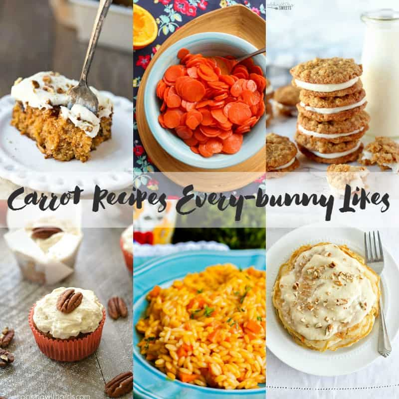 Carrot Recipes Every-bunny Likes! cookingwithcurls.com