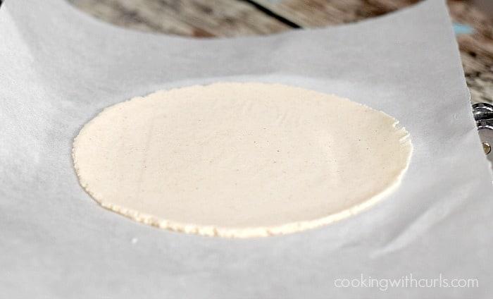 Cassava Flour Tortillas flat cookingwithcurls.com