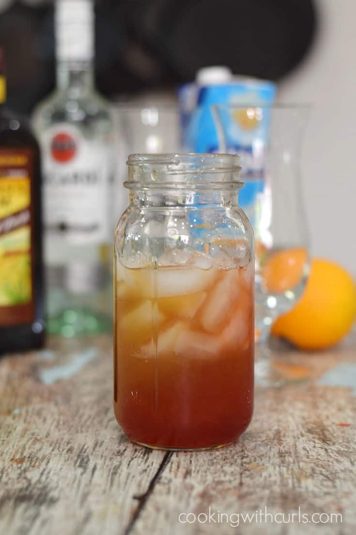 Hurricane Cocktail mix cookingwithcurls.com