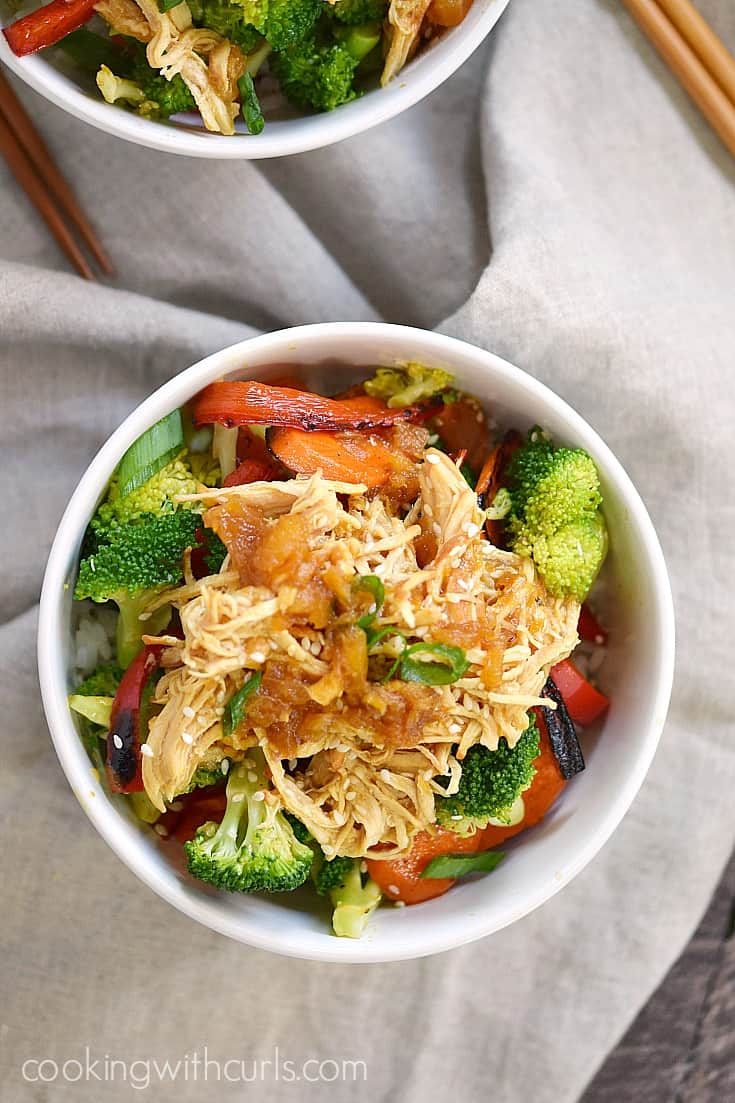 Sweet and tangy Instant Pot Teriyaki Chicken is a family favorite in our house | cookingwithcurls.com