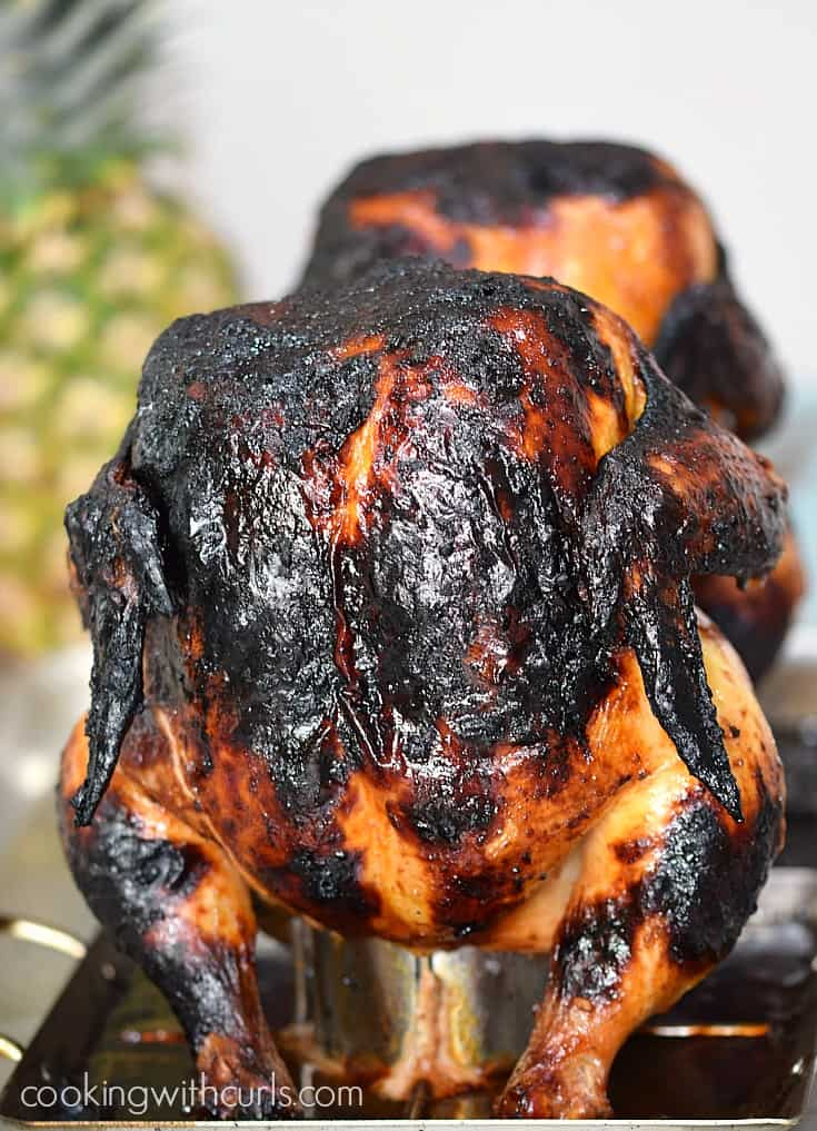 This sweet and salty Huli Huli Chicken will become your favorite meal to grill this summer! cookingwithcurls.com