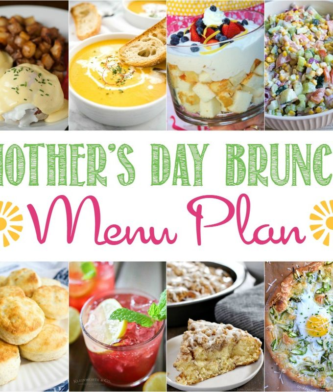 Mother's Day Brunch Menu Plan | cookingwithcurls.com