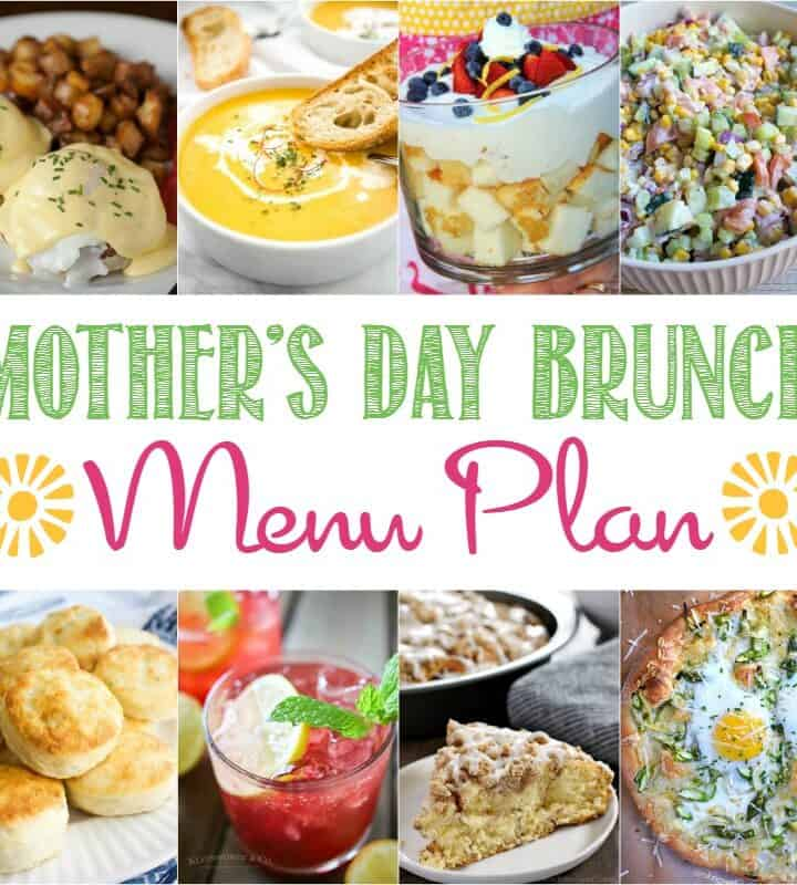 Mother's Day Brunch Menu Plan | cookingwithcurls.com