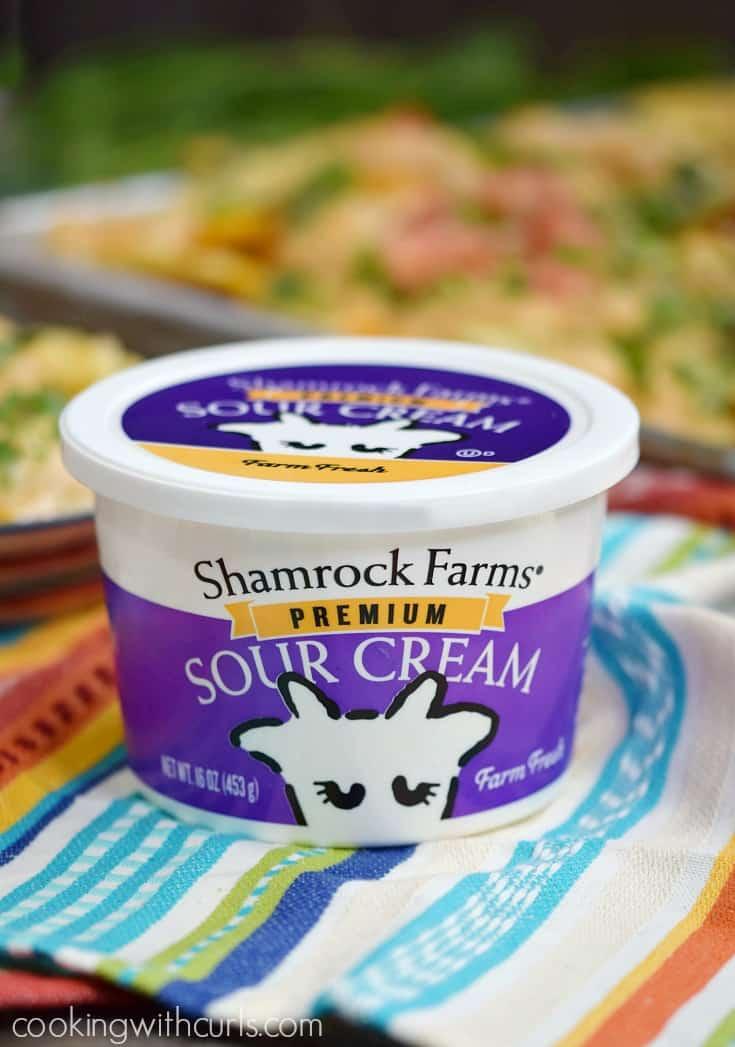Shamrock Farms® Premium Sour Cream | cookingwithcurls.com