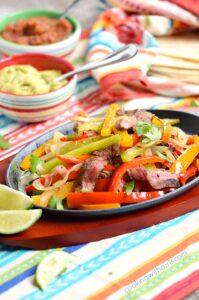 Grilled Steak Fajitas
