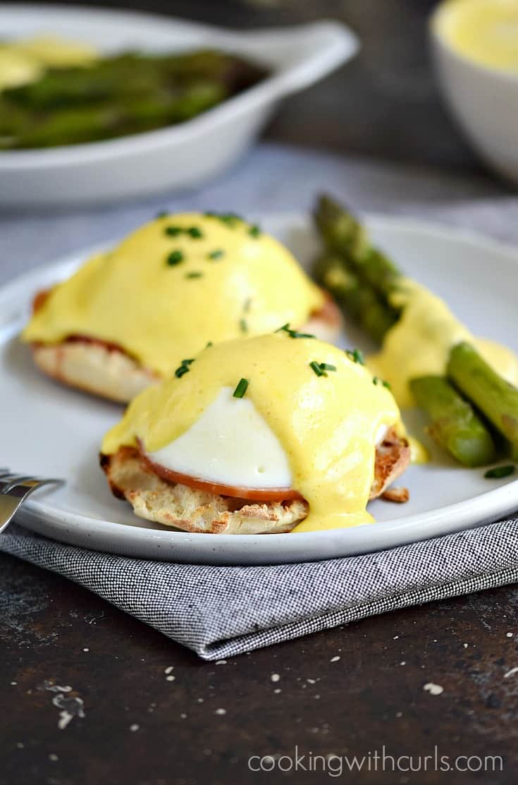 Classic Eggs Benedict - Cooking With Curls