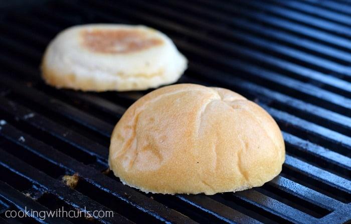 Cowboy Burgers toast cookingwithcurls.com
