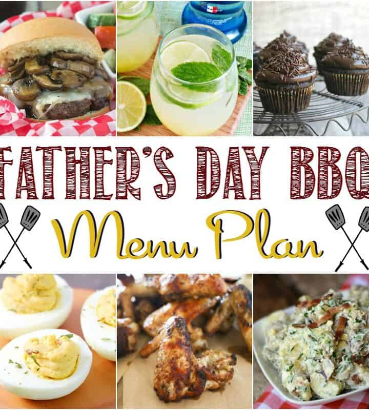 Father's Day Barbecue Menu Plan | cookingwithcurls.com