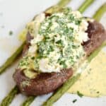 Steak Oscar is the ultimate special ocassion or Date Night meal | cookingwithcurls.com