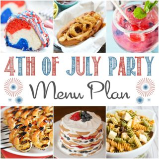 This 4th of July Party Menu Plan will help you plan the perfect party | cookingwithcurls.com