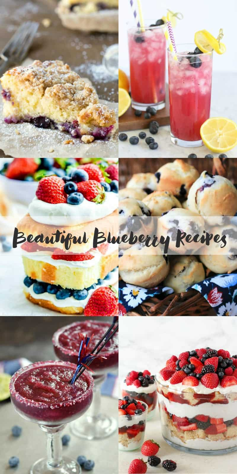 Beautiful Blueberry Recipes | cookingwithcurls.com