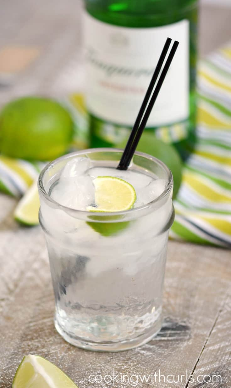 Classic Gin and Tonic | cookingwithcurls.com