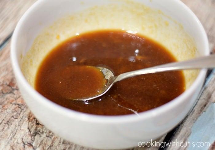 Orange Glazed Cornish Game Hens mix cookingwithcurls.com