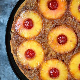 Skillet Pineapple Upside Down Cake