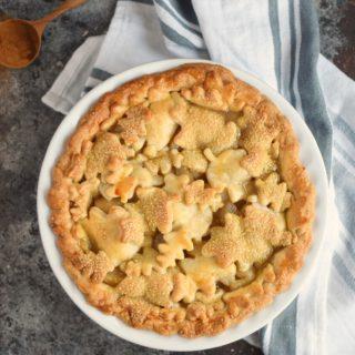 Bourbon-Pear Pie