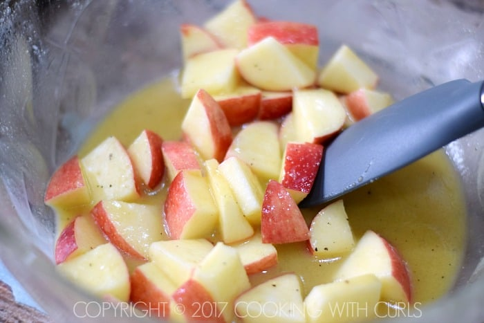 Apple Harvest Salad recipe apples COPYRIGHT © 2017 COOKING WITH CURLS