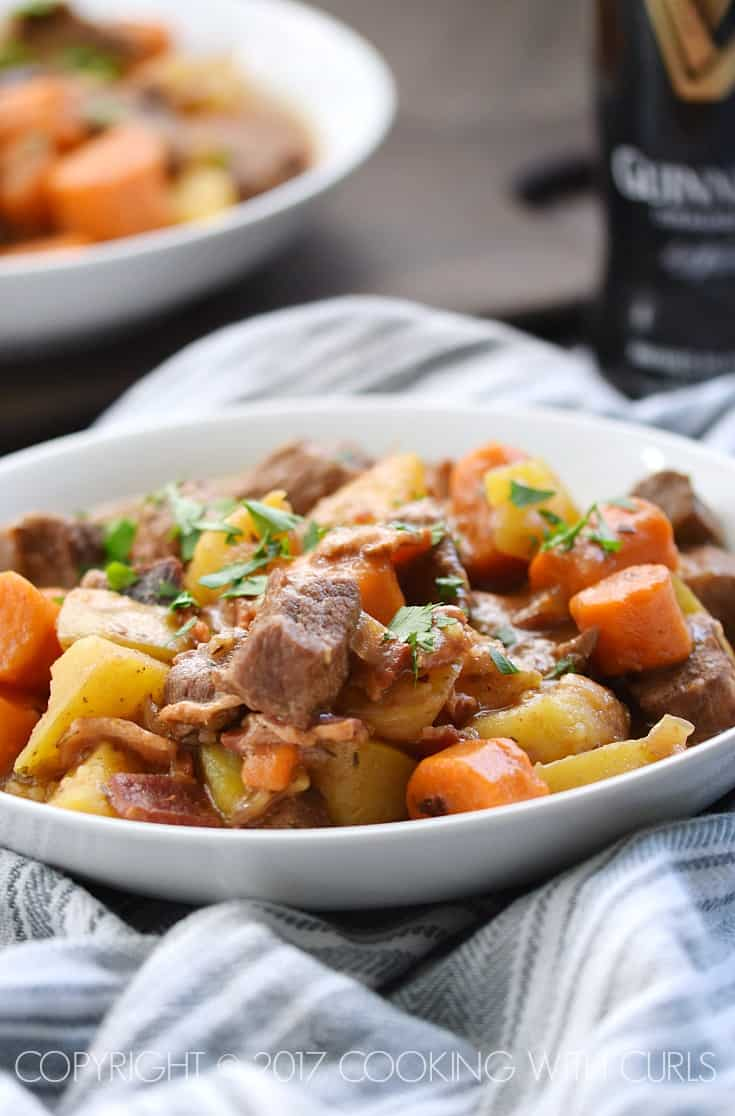 Instant Pot Irish Beef Stew | COPYRIGHT © 2017 COOKING WITH CURLS