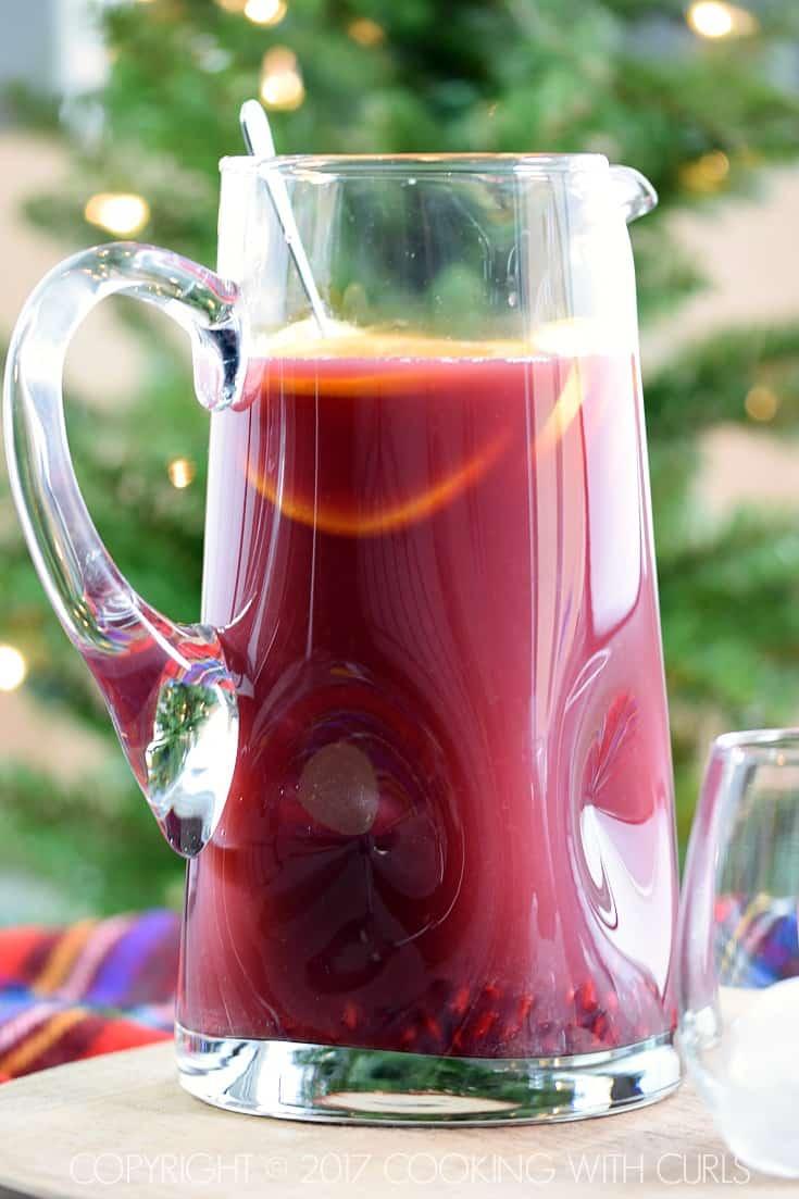 Pomegranate Orange Holiday Punch