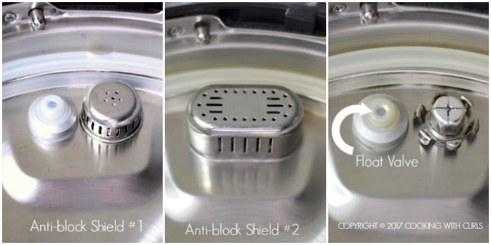 Instant Pot 101 Anti-Block Shield collage COPYRIGHT © 2017 COOKING WITH CURLS