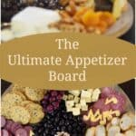 Msg 4 21+ The Ultimate Appetizer Board for an impromptu party using ingredients that are easily available at your grocery store! cookingwithcurls.com #Chardonnation #ad #NotableHoliday #Chardonnay