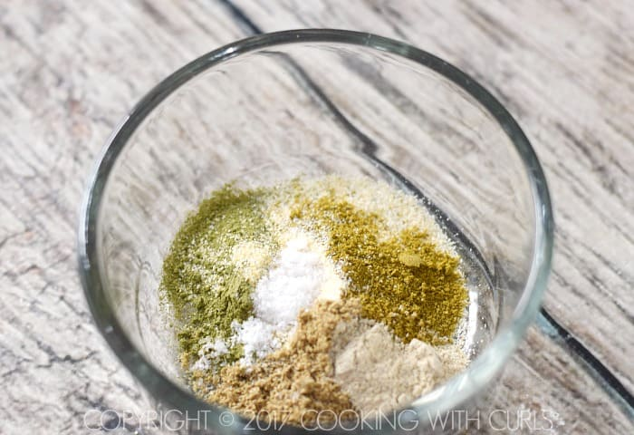Salsa Verde Popcorn seasoning mix COPYRIGHT © 2017 COOKING WITH CURLS