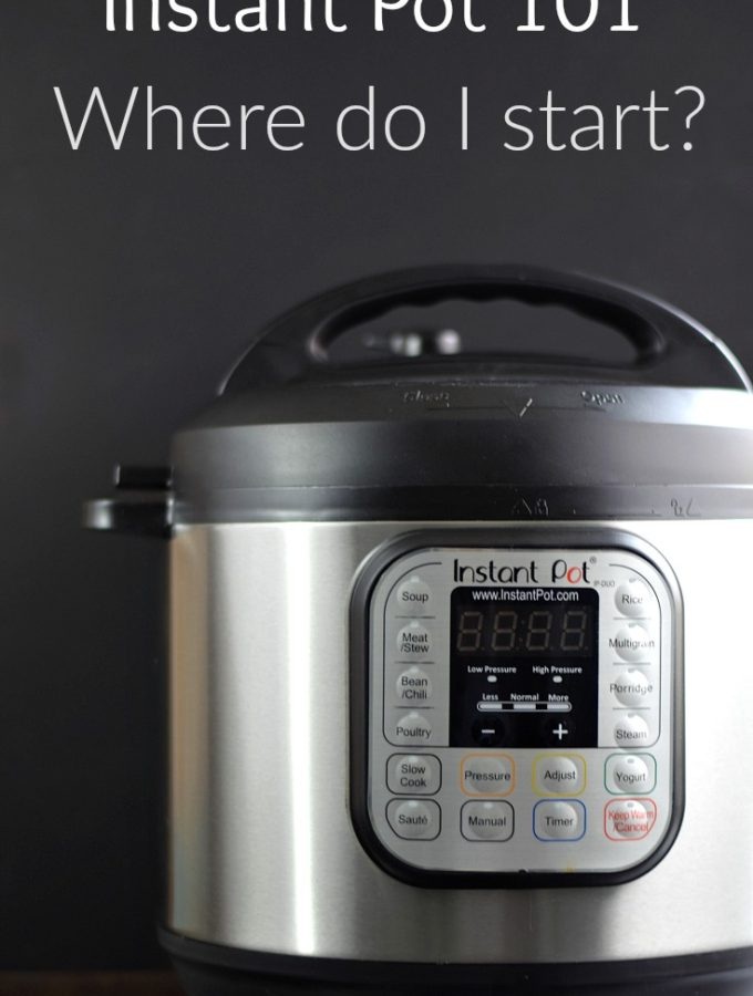 You finally bought one, now what do you do with it Instant Pot 101 is the perfect place to start! COPYRIGHT © 2017 COOKING WITH CURLS