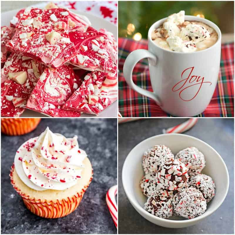 Fun Peppermint Recipes to enjoy during the holidays! © 2017 COOKING WITH CURLS