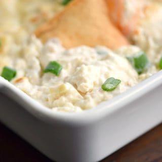 Simple Seafood Artichoke Dip