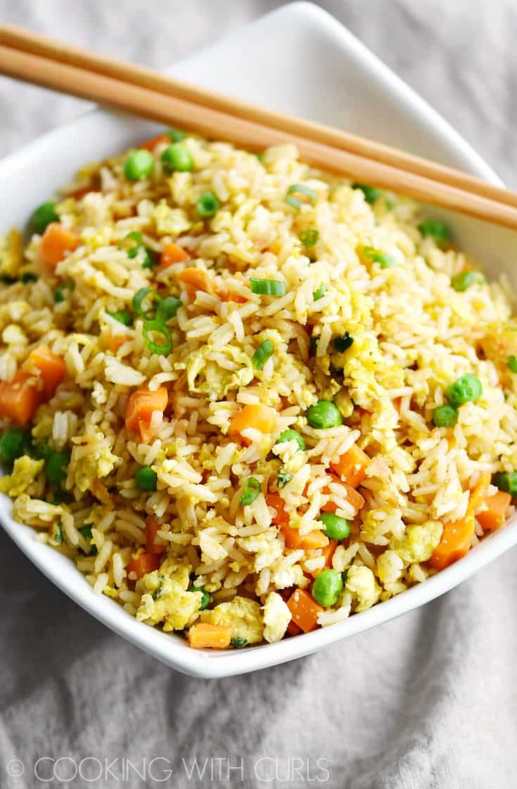 Instant pot fried rice cooking with curls you wont believe how easy this instant pot fried rice is to prepare ccuart Choice Image