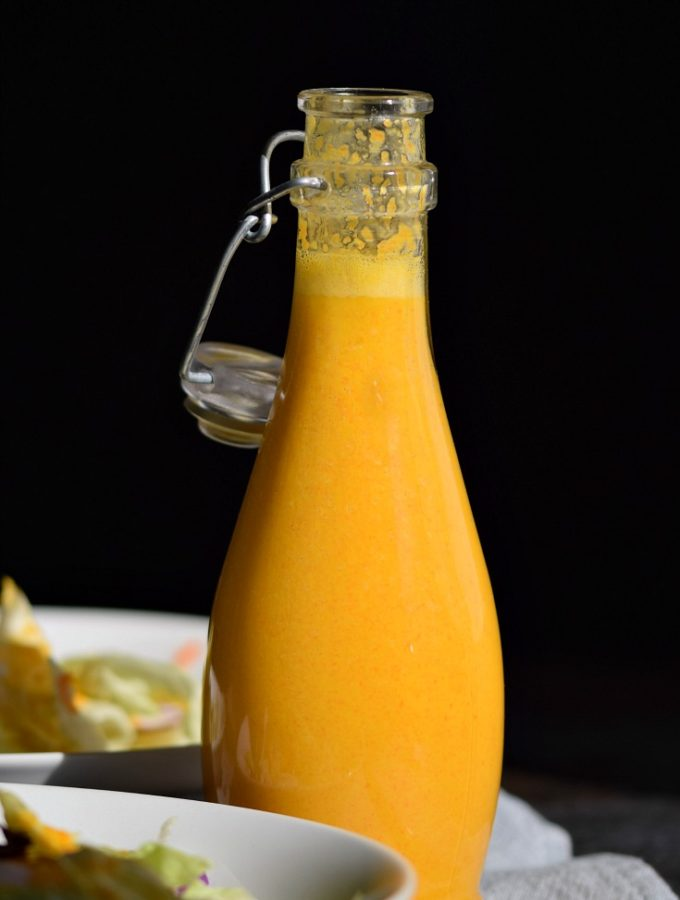Carrot Ginger Miso Dressing © COOKING WITH CURLS
