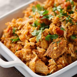 Instant Pot Tandoori Spiced Chicken and Rice is an easy weeknight meal that is packed with flavor! © COOKING WITH CURLS