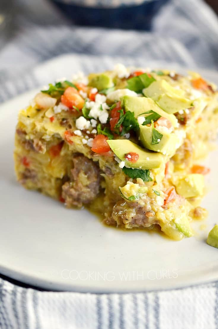 Instant Pot Mexican Breakfast Casserole Cooking With Curls