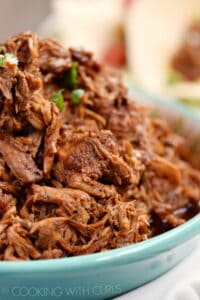 Instant Pot Red Chile Pork is tender, spicy, and packed with flavor! © COOKING WITH CURLS