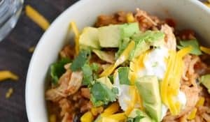 Instant Pot Chicken Taco Bowls Sidebar Image