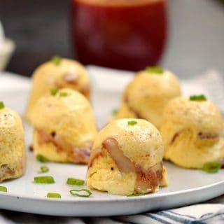 Instant Pot Bacon-Cheddar Egg Bites