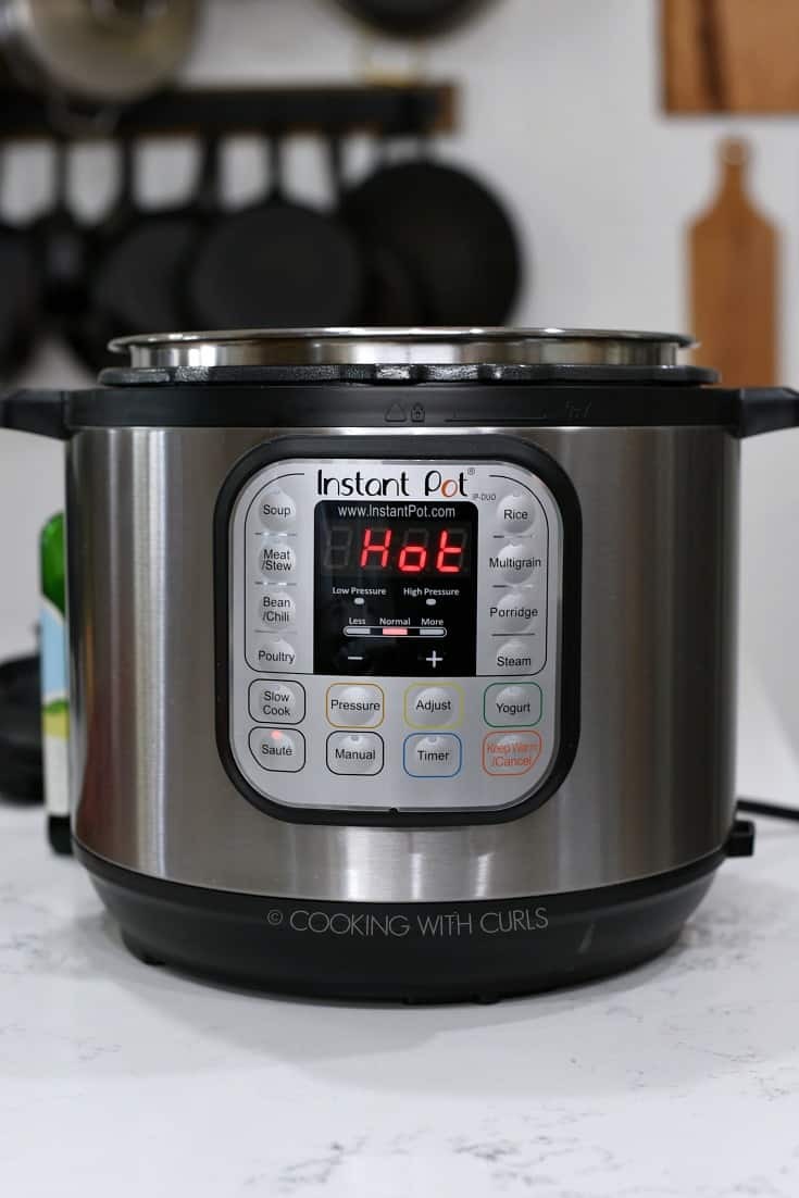 Instant Pot HOT cookingwithcurls.com