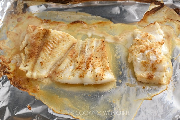 Fish baked to perfection cookingwithcurls.com