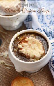 This Instant Pot French Onion Soup breaks from tradition, but still has all of the flavors of the original! cookingwithcurls.com