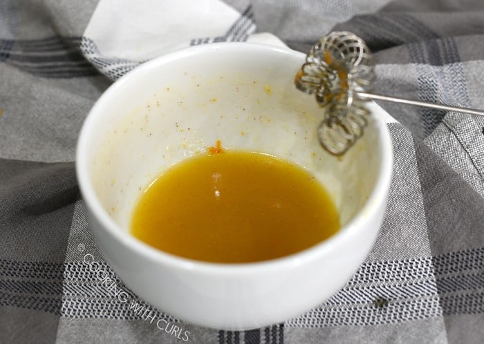 Whisk the orange glaze ingredients together in a small bowl cookingwithcurls.com