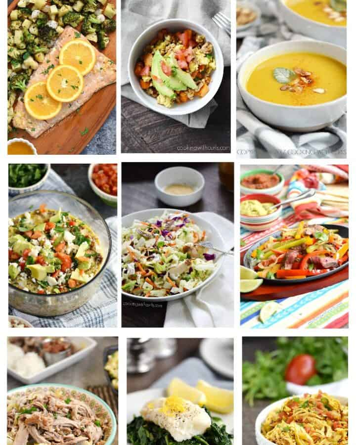 Whole 30 Game Plan 2.0 includes all of my favorite Whole30 recipes as well as tips and suggestions to help make things a little bit easier! cookingwithcurls.com