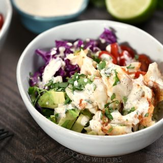 If you are looking for a healthy and delicious meal the whole family will love, look no further than these Fish Taco Bowls! cookingwithcurls.com
