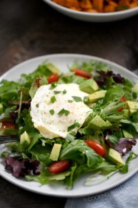 Make mornings less complicated with this delicious Whole 30 Breakfast Salad! cookingwithcurls.com