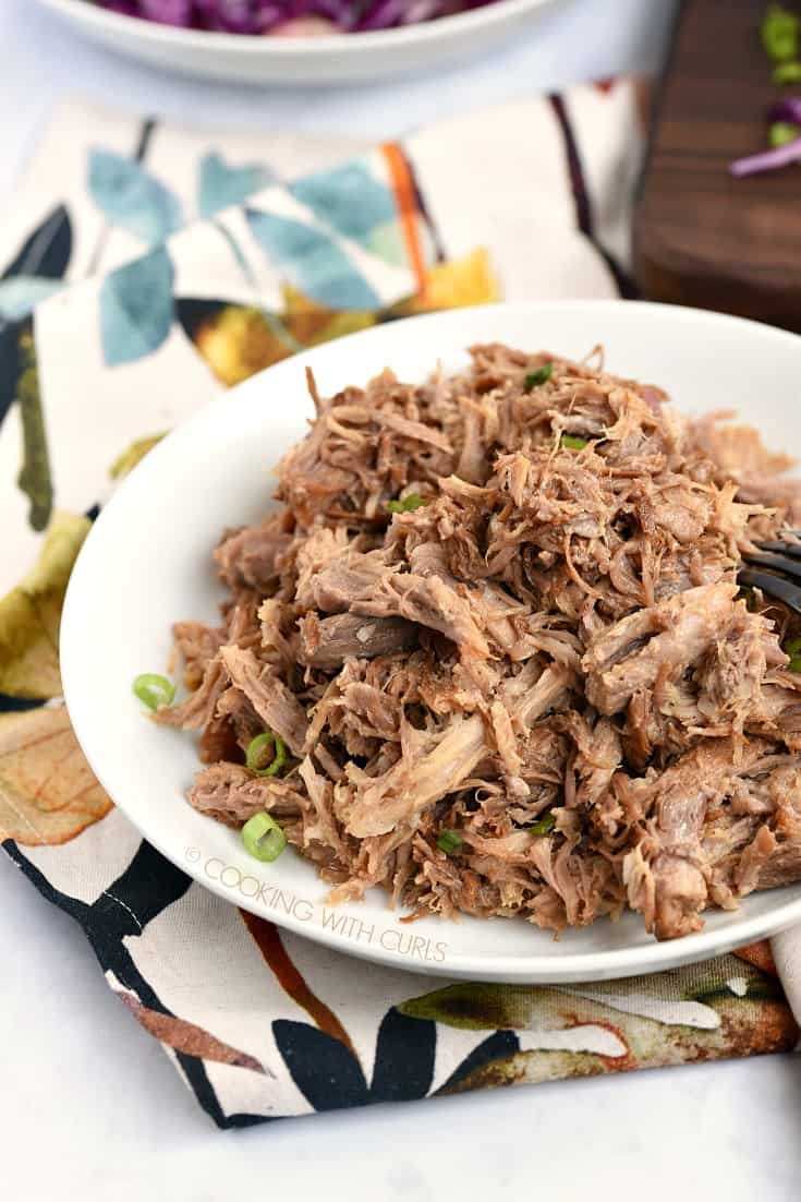 A big bowl of Hawaiian Pulled Pork