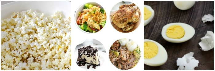 Miscellaneous Instant Pot Recipes Collage